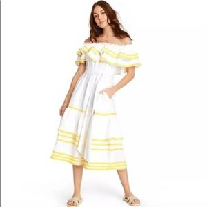 Lisa Marie Fernandez Ric Rac Dress White Size XXS